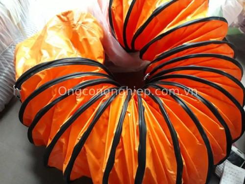 Ống gió mềm vải simili cam
