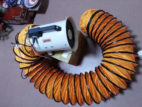 lắp đặt ống gió similic cho quạt hút