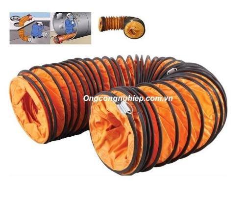 ống gió vải simili