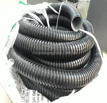 ống ruột gà lõi thép bọc nhựa pvc luồn dây điện