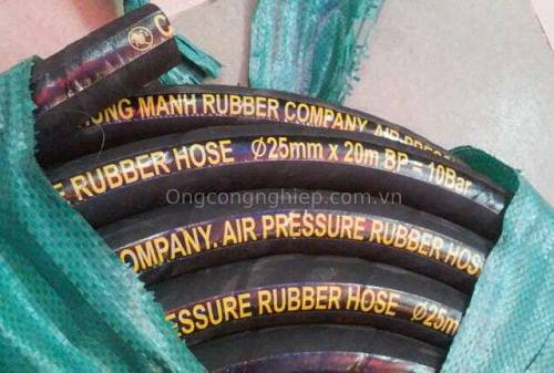 ống cao su bố vải công danh hùng mạnh