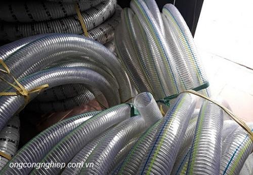 bán ống nhựa mềm lõi thép của hàn quốc