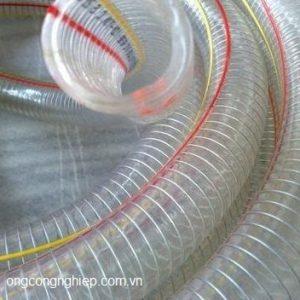 ống nhựa mềm lõi thép phi 42