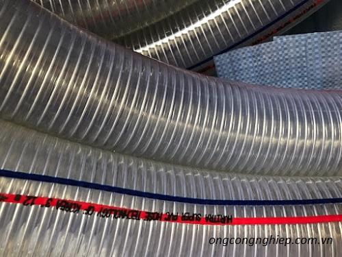 ống nhựa mềm lõi thép chịu nhiệt