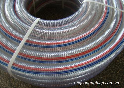 Ống nhựa mềm lõi thép chịu nhiệt, chịu áp lực giá tốt