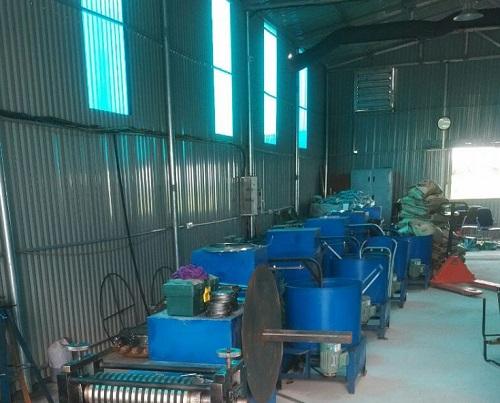 sản xuất ống ruột gà lõi thép