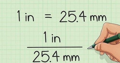 Quy đổi đường kính ống từ INCH sang MM đơn giản nhất