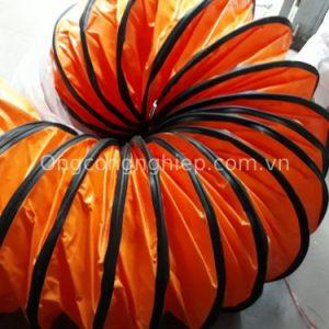 ống gió mềm vải simili phi 500