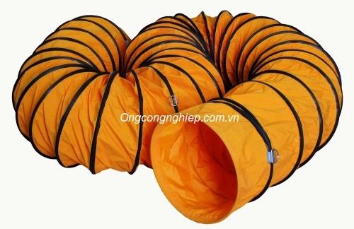 ống gió vải simili cam