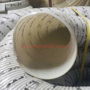 ống hút bụi gân nhựa phi 125