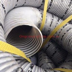 ống hút bụi gân nhựa phi 40