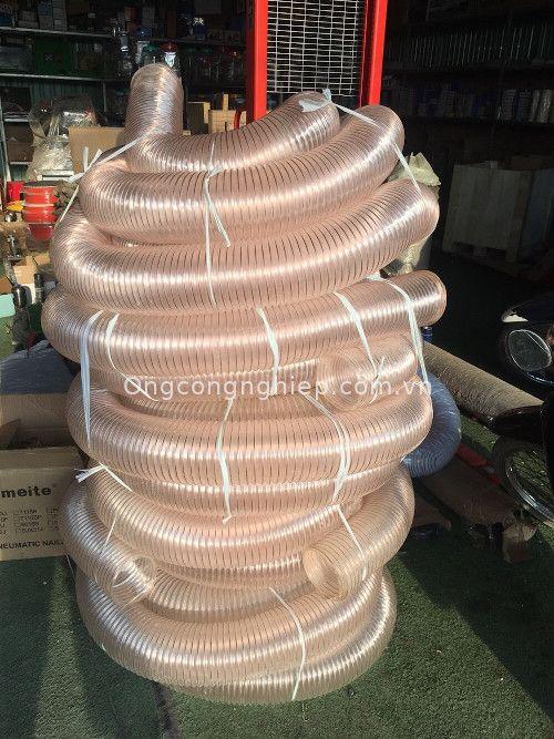 ống hút bụi lõi thép tpu mạ đồng