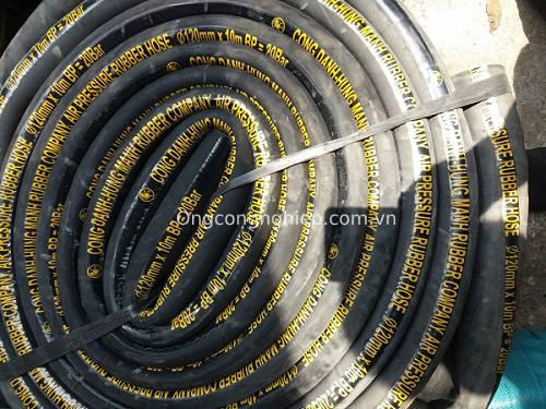 ống cao su bố vải chịu nhiệt