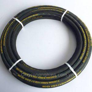 ống cao su bố vải phi 32