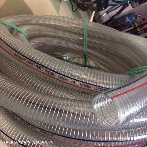 ống nhựa mềm lõi thép hàn quốc