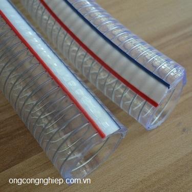 Ống nhựa mềm lõi thép phi 58
