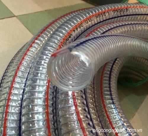 Ống nhựa mềm lõi thép hàn quốc hay trung quốc