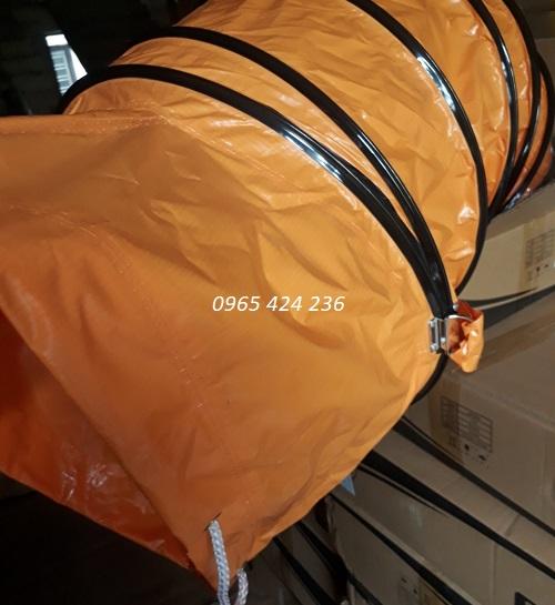Tổng kho ống bạt mềm simili nối quạt hút công nghiệp