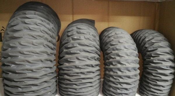 ống gió vải chịu nhiệt fabic