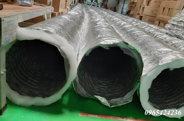 ống gió vải chống cháy fabic