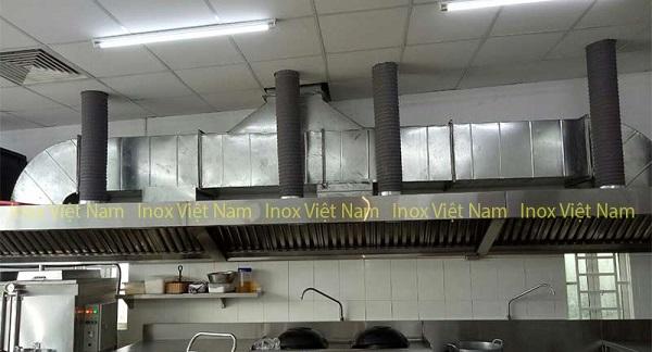 ống hút mùi cho bếp